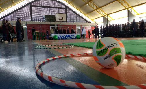 Inaugurado a quadra poliesportiva do IFPR de União da Vitória