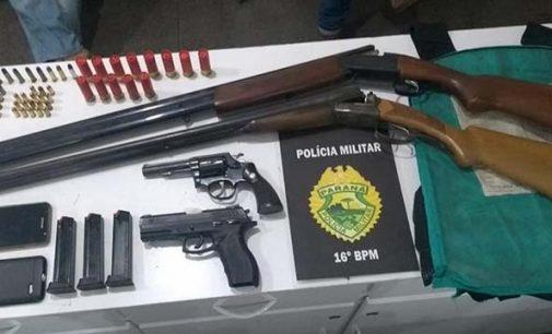Receptadores são presos em Bituruna e Pinhão