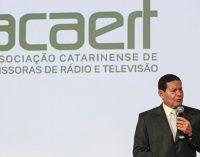 "Vice-presidente Hamilton Mourão participa do encontro da Acaert ""Momento Brasil"""