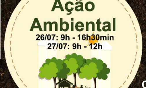 Ação Ambiental será nesta sexta e sábado em Porto União