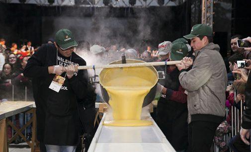 11ª Festa do Vinho inicia hoje com a tradicional polenta
