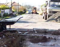 Rua Balduíno Bohrer no São Basílio recebe melhorias