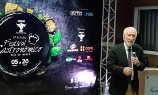 Darci Piana participa do III Festival Gastronômico Vale do Iguaçu
