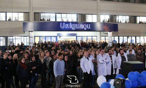 Centro Universitário Uniguaçu comemora 18 anos