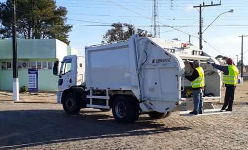 Prefeitura de Matos Costa assume coleta de resíduos sólidos