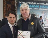 Prefeito de Porto Vitória assina Convênio de sinalização viária