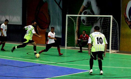 Jogos da Cidade: Futsal estreia com três vitórias e um empate