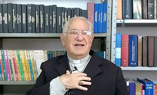 Bispo emérito Dom Walter Ebejer ganha alta do hospital