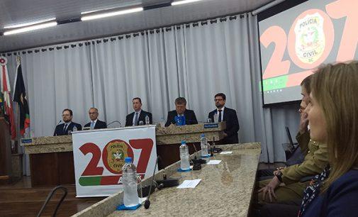 Porto União: Polícia Civil de SC completa 207 anos