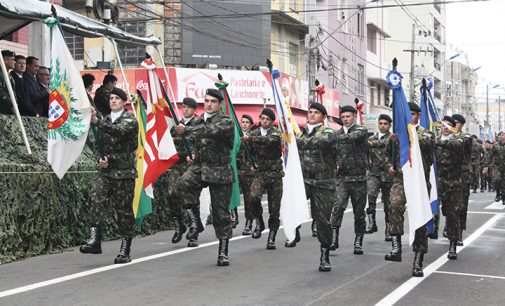 Aberta as inscrições para o Desfile de 07 de setembro