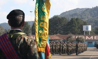 Homenagem: 5º BE Cmb Bld celebra o Dia do Soldado