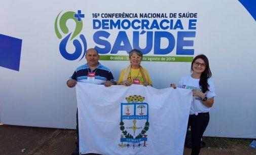 Porto União participa da 16ª Conferência Nacional de Saúde em Brasília