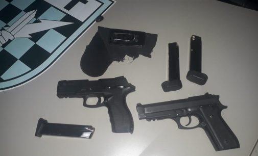 Dois homens são presos por porte de arma em Matos Costa