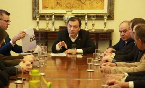 Governador Carlos Moisés recebe prefeitos da AmplaNorte