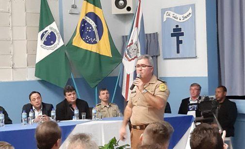 Major Toniolo confirma Escola Militar em União da Vitória