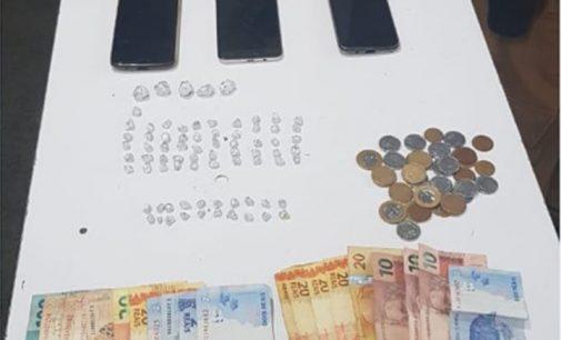 Três traficantes são presos em General Carneiro