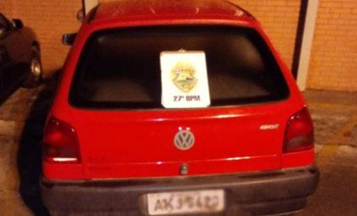Homem é preso por adulteração de placa de automóvel