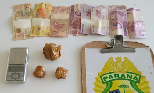 Homem é preso por tráfico de drogas em União da Vitória