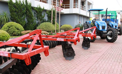 Prefeitura de Bituruna adquire novos implementos agrícolas