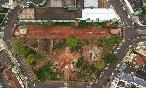 Prefeitura rompe contrato de obra na praça Coronel Amazonas