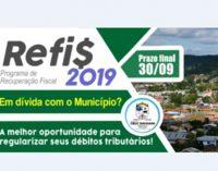 Cruz Machado inicia o programa Refis 2019