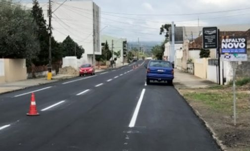 Ruas de União da Vitória recebem nova sinalização