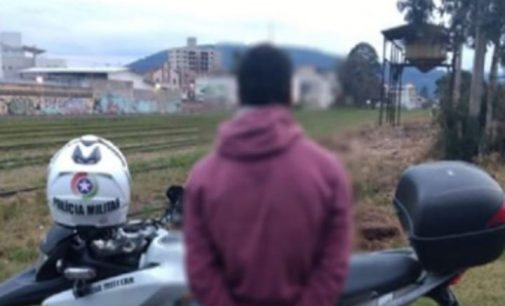 Foragido da Justiça é preso na ciclovia de Porto União
