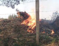 Defesa Civil de Bituruna alerta sobre perigos de queimadas