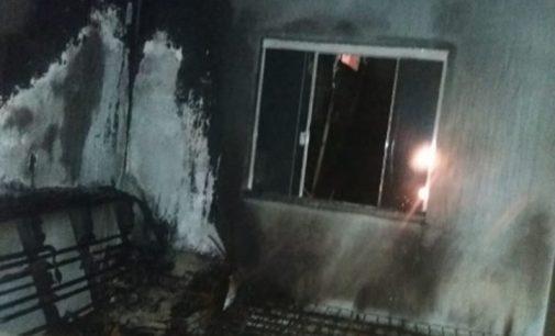 Ocorreu um princípio de incêndio no bairro São Francisco