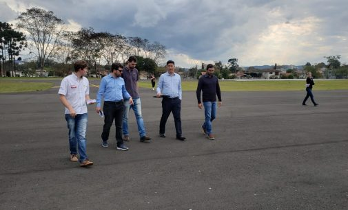 Empresa TWOFlex vistoria Aeroporto de União da Vitória
