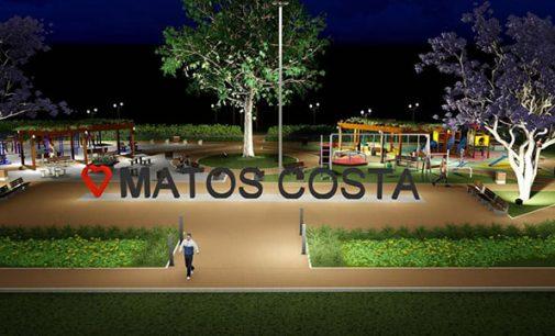Prefeitura de Matos Costa apresenta o projeto da nova praça Erich Zipperer
