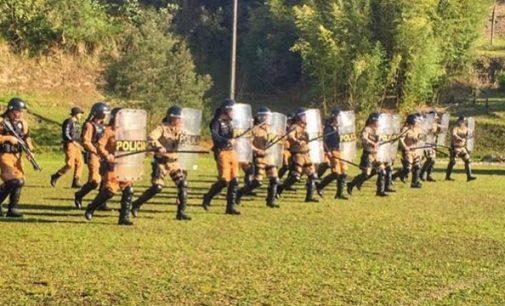 Policiais Militares fazem treinamento em Porto União