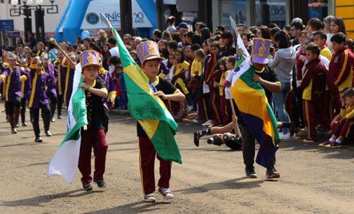 Bituruna homenageia os 197 anos da Independência do Brasil