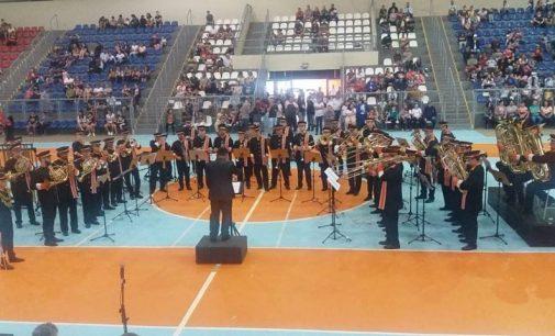 Banda Marcial Faber conquista título em evento no Paraná