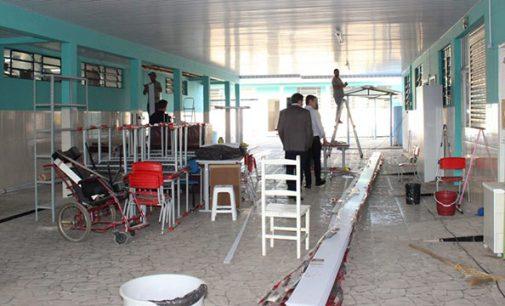 Obras na Escola Fruma Ruthenberg estão em fase final