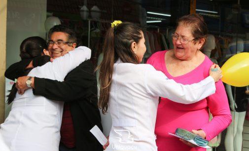 Uniguaçu realiza ato de 'Valorização da Vida!'