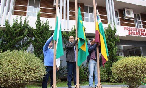 Comemorações da Semana Cívica iniciam em Bituruna