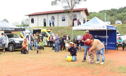 "Projeto ""Amigos do Povo"" leva atividades para o interior de Bituruna"