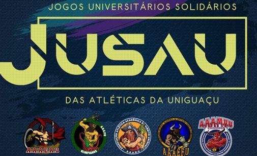 Uniguaçu promove dia de Jogos Solidários entre Atléticas
