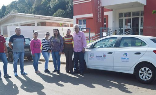 Equipe do CRAS de General Carneiro recebe novo veículo