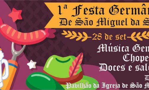 Festa Germânica será dia 28 em São Miguel da Serra