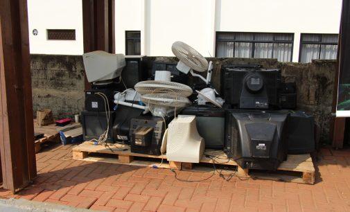 1.340 kg de lixo eletrônico é recolhido durante o Dia D