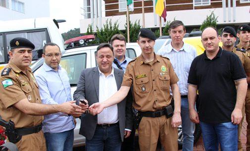 Bituruna recebe novos veículos do Governo do Paraná