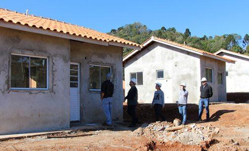 Obras nas novas casas do São João estão 60% concluídas