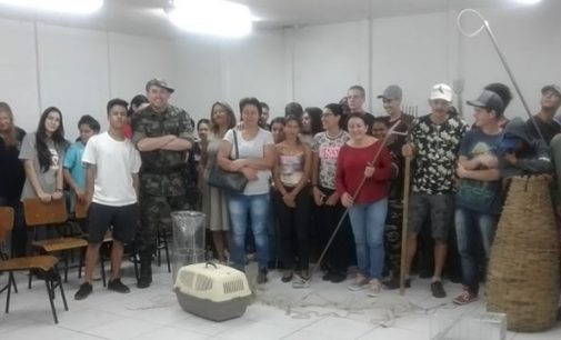 PMA leva orientação aos alunos do EJA de Porto União