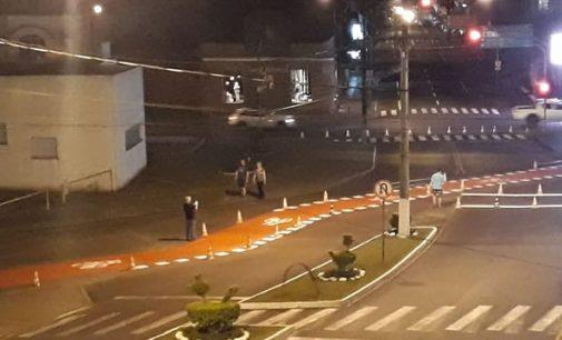 Ciclovia recebe nova sinalização em Porto União