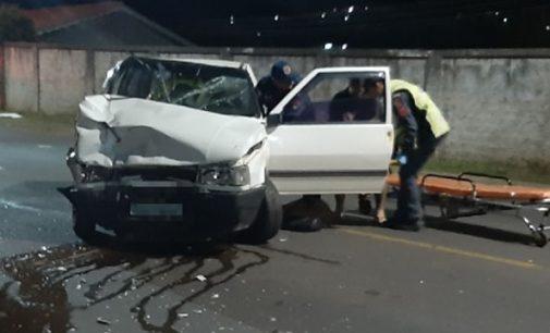 Acidente de trânsito deixa três feridos em Porto União