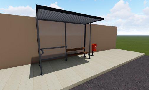 Novos abrigos para passageiros são instalados nos bairros