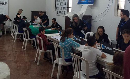 Paraná Cidadão oferece RG para as crianças