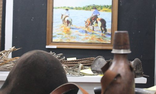 """Aberta exposição: """"Tributo à Passagem do Vau do Iguaçu"""""""